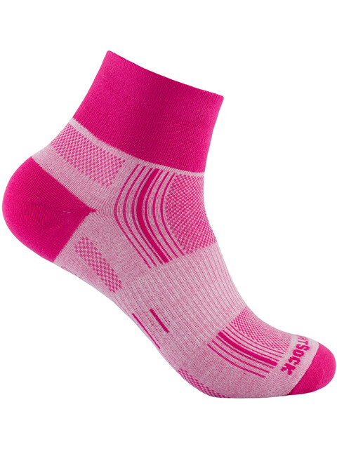 Wrightsock Stride Quarter Strømper pink